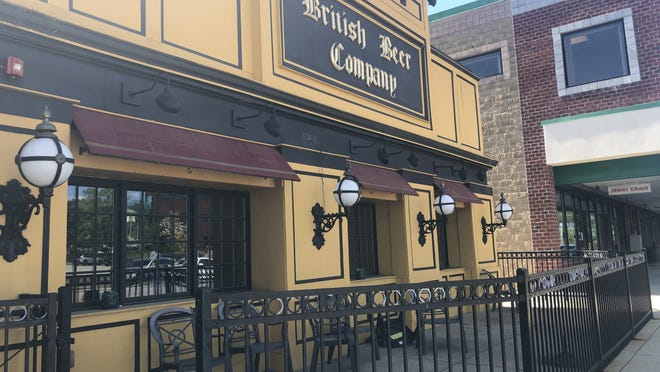 The British Beer Company pub and restaurant in the Franklin Village Plaza has apparently closed for good.