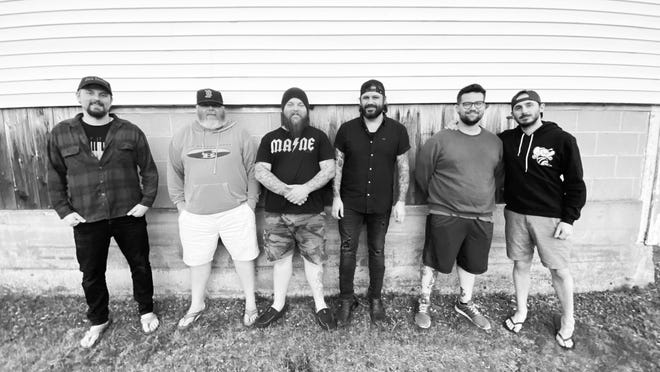 Dalton & the Sheriffs are, from left, Ryan Jackson, Brian Scully, Kevin Billingslea, Jay Tagg, Jake Wertman and Dennis Walsh.