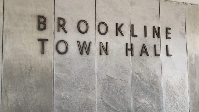 Brookline Town Hall.
