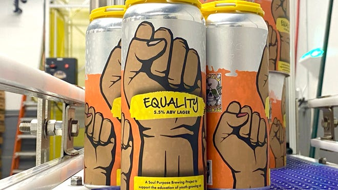 EQUALITY Lager was brewed by Greater Good Brewing Co.'s offshoot Soul Purpose Brewing Co. to benefit The Nativity School of Worcester.