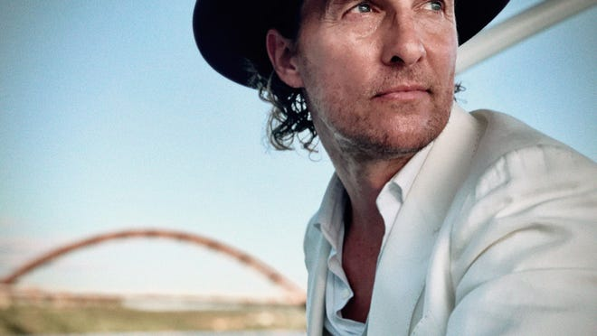 """Matthew McConaughey turned to decades of personal journals to help him piece together his bestselling memoir, """"Greenlights."""""""
