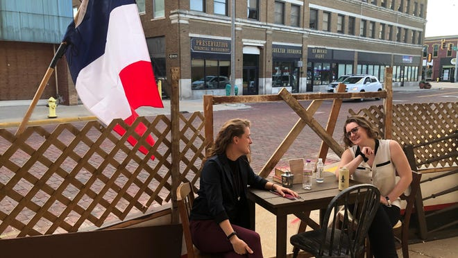 The Orpheum Theatre has opened the ABC Cafe, a Les Miserables-themed sidewalk lounge open on Thursday and Friday nights.