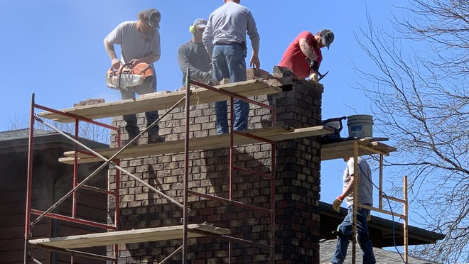 Our reader this week is asking a new question. Interesting that after eight years of inquiries, this is the first one with a chimney inspection question when there are 18 million chimneys in the US. While the details are sketchy, I suspect the chimney sweep recommended the Lamborghini when a Chevrolet would have restored the chimney just as well.