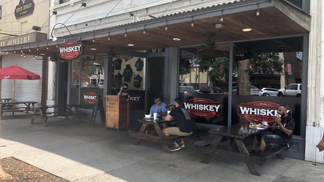 Whiskey Bar Kitchen on Broad Street reopened to customers this week after an employee tested positive over two weeks ago causing the restaurant to close.