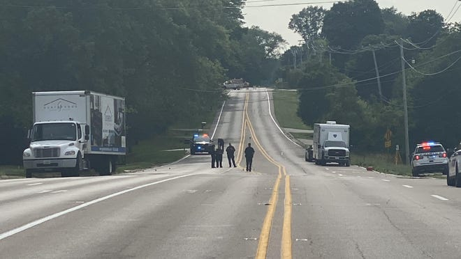 A 2-year-old child was killed Thursday, July 2, 2020, after she was struck by a commercial truck on Guilford Road in Rockford.