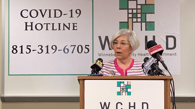 Winnebago County Health Department Administrator Sandra Martell warns the region's COVID-19 positivity rate is inching upward.