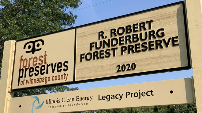 The R. Robert Funderburg Forest Preserve is located at Montague and Meridian Roads and spans nearly 869 acres.