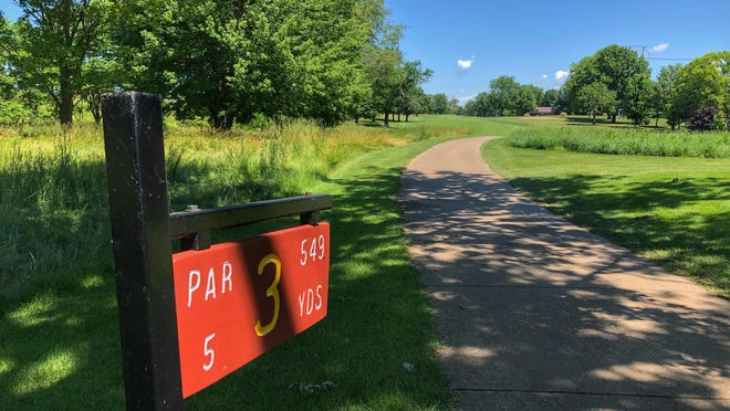 """A glimpse down hole No. 3 at Soangetaha Country Club, as seen Thursday morning. Illinois golfers might have finally reached the """"Back 9"""" in dealing with the coronavirus pandemic."""