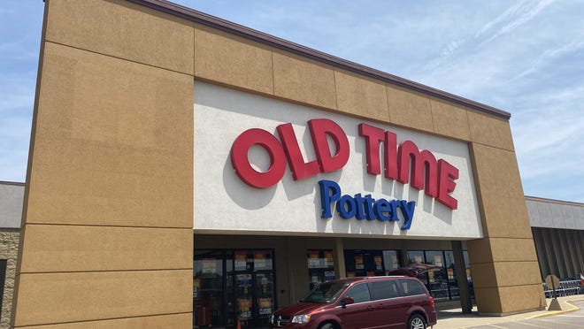 Old Time Pottery's store at 5830 E. State St. is going out of business. The store is pictured on Thursday, July 2, 2020.