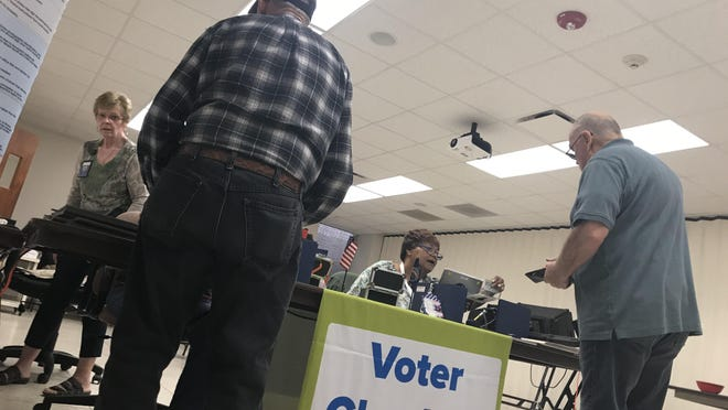 Elections, starting with the Aug. 4 primary, will look a bit different this fall. Poll workers will make use of personal protective equipment, and some locations will have plexiglass shields for check-ins and at voting machines. There may also be fewer voters at the polls -- as early voting and mail voting registrations have increased this year.