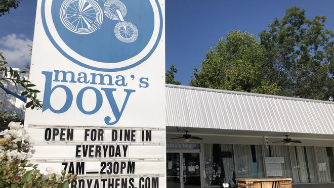 Mama's Boy is a breakfast and lunch staple to Athens.