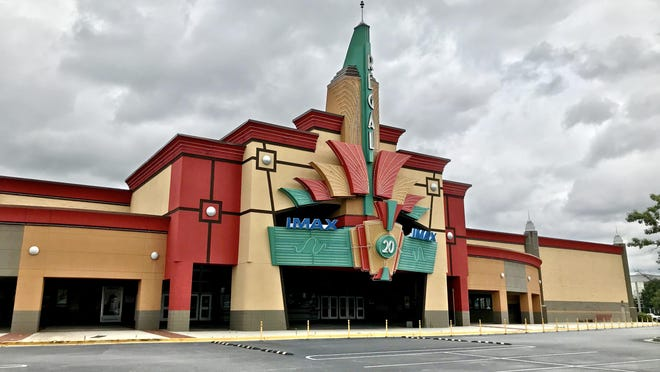 The Regal Cinema in Augusta has been closed since October because of COVID-19 precautions. The company tweeted Jan. 5 that it hopes to reopen theaters in March.