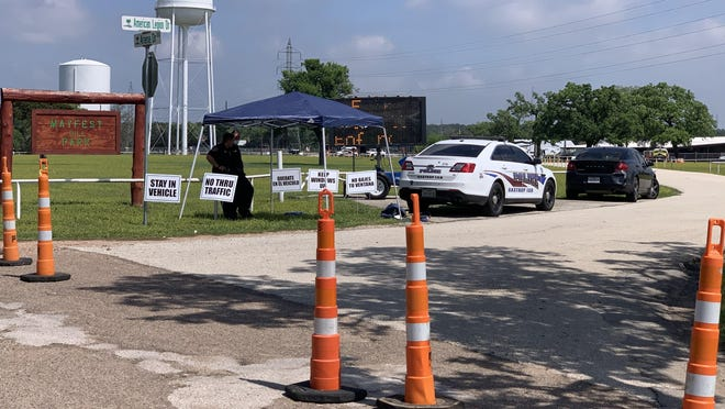 A free coronavirus testing site began operating Tuesday at Mayfest Park in Bastrop as Austin Public Health, in partnership with the county, expands the virus testing network. Bastrop County residents may apply for a free test at