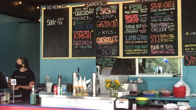 White Duck Taco Shop opened its Hendersonville location at 500 Seventh Ave. E. on Thursday.