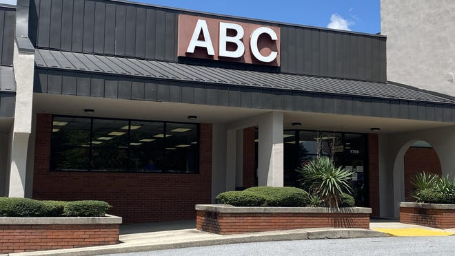 On average, sales at the Laurel Park ABC Store, shown here, have been up 24.3% between January and July this year, including a 48.3% increase in March, when the store brought in $163,750. Last March, that number was $110,420.