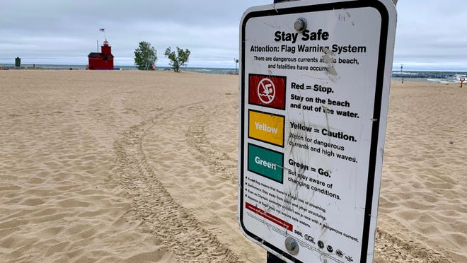According to Holland State Park DNR Supervisor Sean Mulligan, conversations are happening between township officials and engineers to determine additional ways the park can inform visitors about dangerous water conditions.