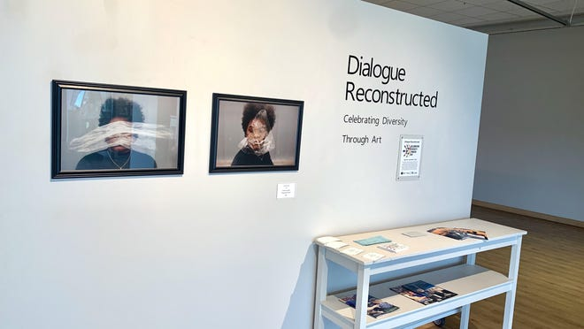 "Photos by Tarmine Guichette are shown in the ""Dialogue Reconstructed"" exhibit at the Hutchinson Art Center."