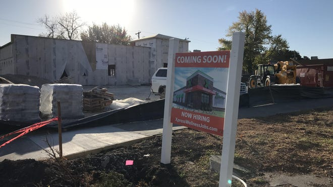 There is a new health clinic coming to Newton -- Xpress Health, part of a growing chain of clinics that started in Oklahoma and has spread into several cities in Kansas.