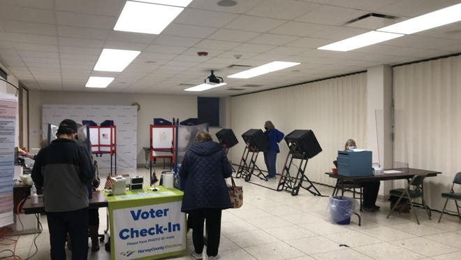 Early voting has begun in Harvey County, and more than 10% of registered voters have already cast a ballot.
