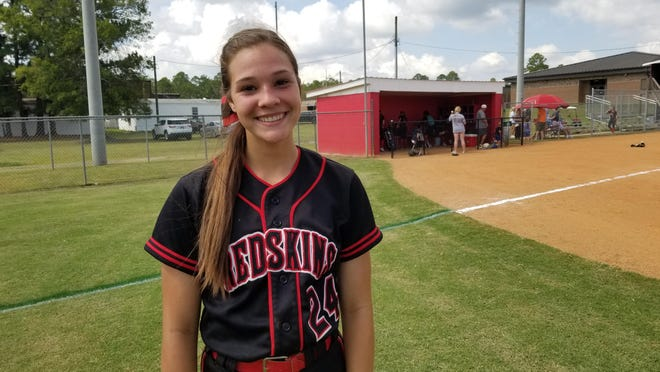 Bryan County High School softball player McKenzie Mobley.