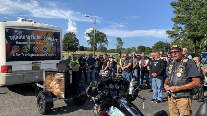 More than a dozen bikers have traveled across the United States honoring soldiers killed in the line of duty. On Sunday, riders with Tribute to Fallen Soldiers Northwest stopped in Gastonia to remember SFC Jeremiah Johnson. Johnson, of Ohio, was killed in 2017 in Niger while on a joint patrol with Nigerian forces.