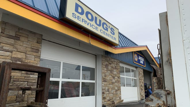 Doug's Service Center was temporarily closed by the health department on Oct. 7, even though owner Doug Rosencutter said he did everything he was asked to do.