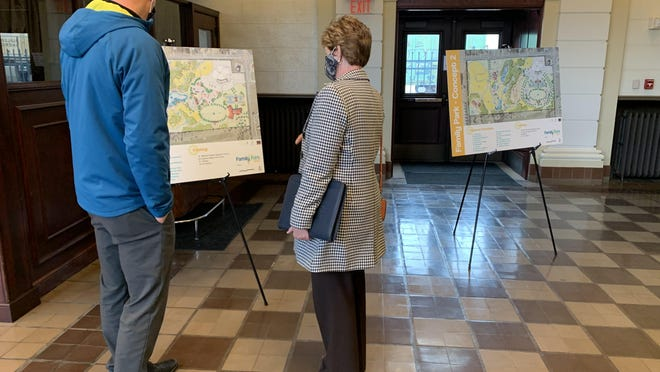 The Shawnee County Parks and Recreation has three potential concepts for updates to Family Park.