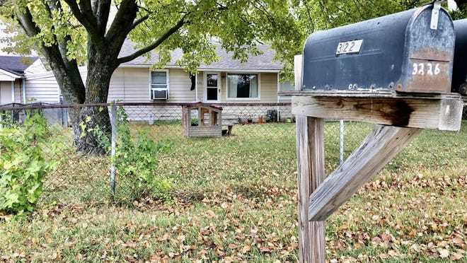 Topeka police responded Tuesday evening to a fatal stabbing at this home at 3226 N.E. Seward Ave.