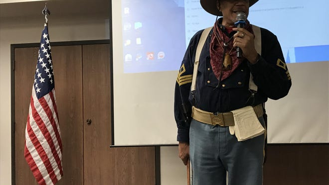 George Pettigrew talks about the history of Buffalo soldiers.