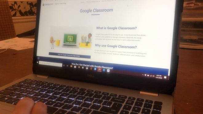 Columbia County schools use the Google Classroom platform to  deliver the learn-from-home option for students who choose to attend school online.