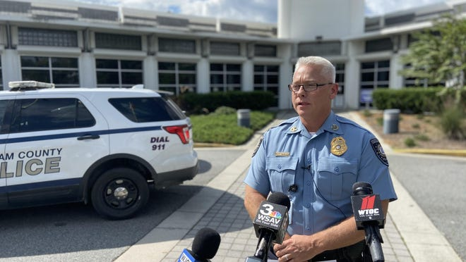 Chatham County Police Chief Jeff Hadley on Thursday afternoon addressed two recent shootings in Chatham County.