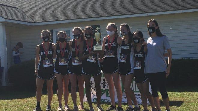The Savannah Arts Academy girls cross country team won the GHSA Region 3-3A title on Tuesday in Statesboro.