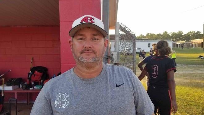 Bryan County softball coach Jason Roundtree.