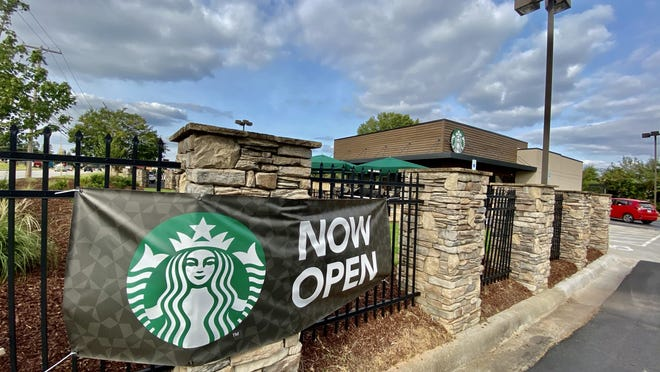 Starbucks recently opened a Kings Mountain location at 717 York Road.