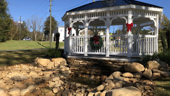 A newly-constructed gazebo on Shucraft Road in Appling is connected to free WiFi as part of Columbia County's ongoing efforts to bring broadband service to underserved areas of the county.