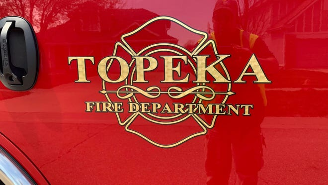 Topeka Fire Department crews responded to a fire at a home  Friday evening in West Topeka, authorities said.