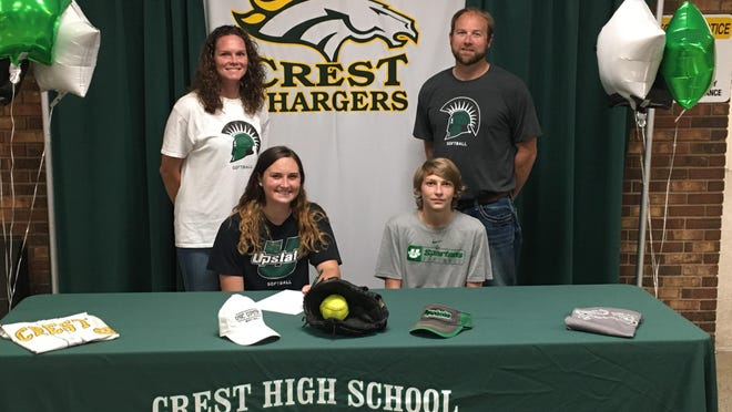 Mackenzie Hayes signs to play softball at USC Upstate.
