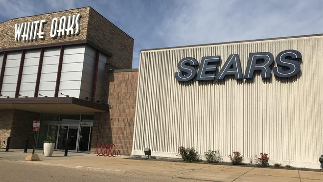 The Sears in Springfield's White Oaks Mall.