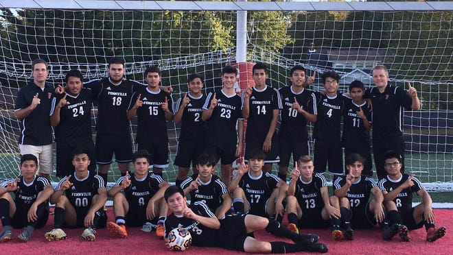 Last year's Fennville boys soccer conference championship team.