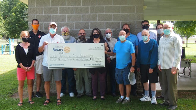 The Jonesville Rotary Club created a Business Relief Fund during COVID-19 to give back to the business community.