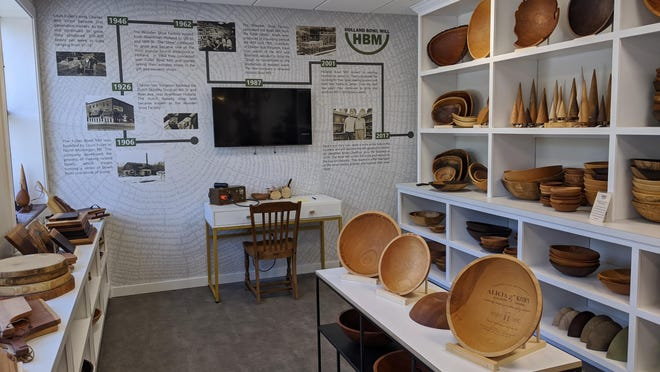 The Holland Bowl Mill, located at 120 James St. in Holland, has doubled its showroom space.