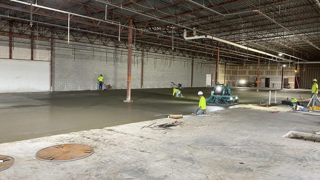 The new GRCC Lakeshore Campus is expected to be ready for the fall 2021 semester.