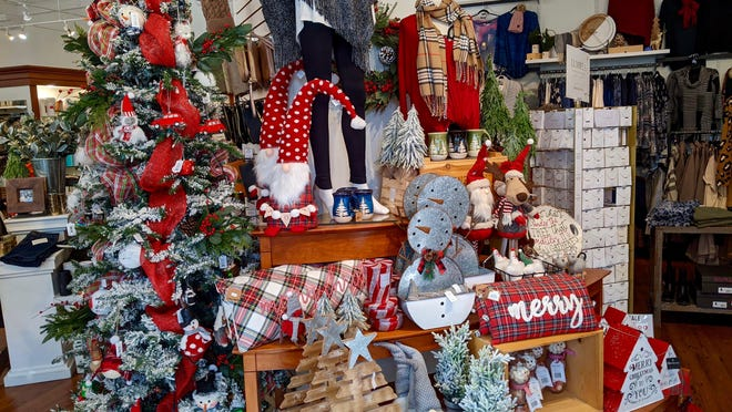 Jean Marie's hosts a special sale with its new holiday decorations and merchandise Saturday, Nov. 7. Among the items are blankets, pajamas, sweaters and kitchenware.