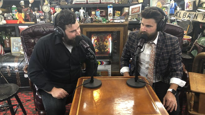 """Benny and Nick Capaul, twin brothers, recently teamed up with Wolf Vision Productions for a new podcast program, """"Let's Talk About Death."""""""