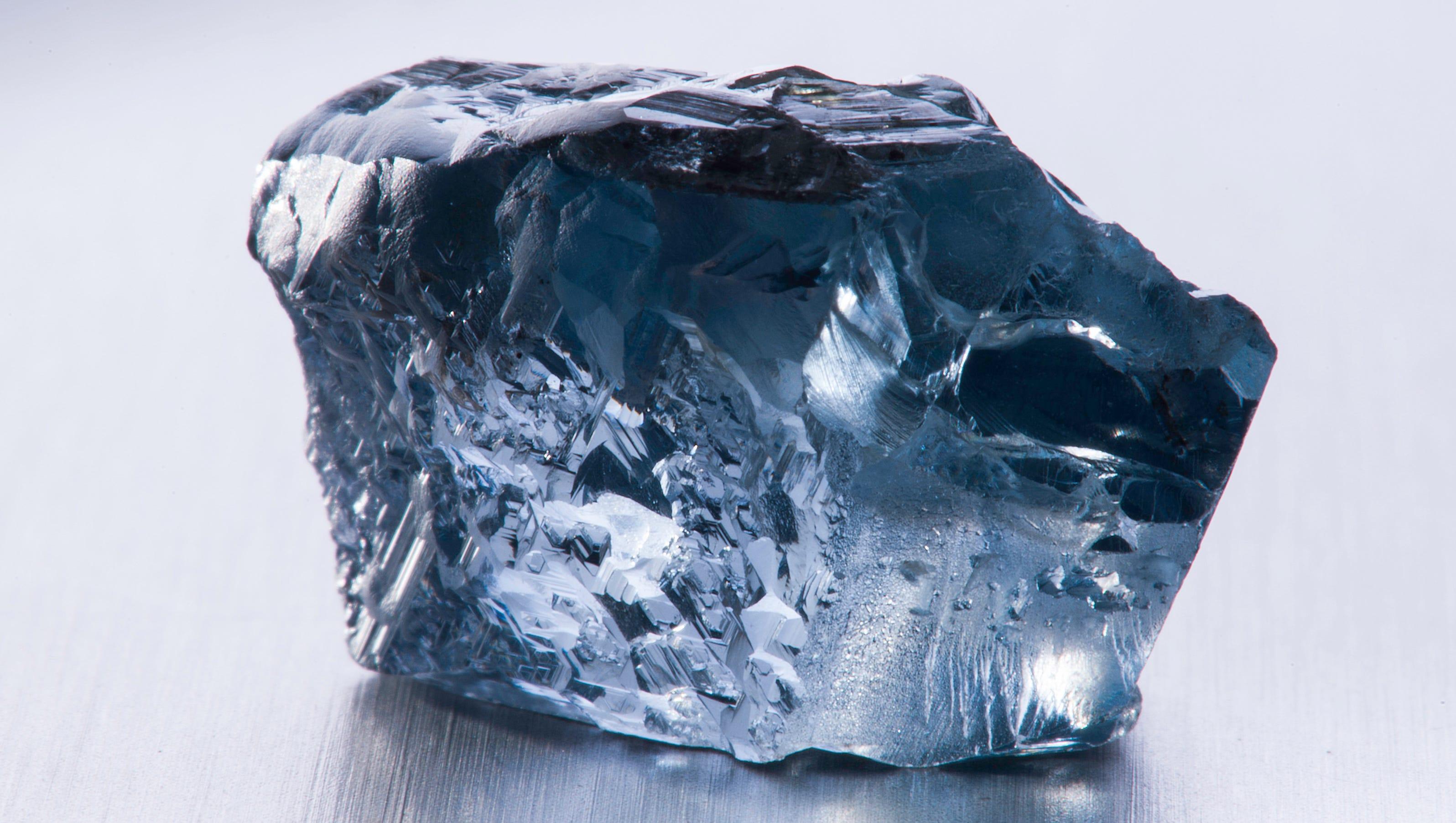 Rare Blue Diamond Found In South Africa