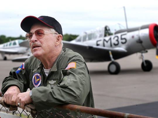 Pilot Michael Kennedy, Lt. Col USAF (ret) talks about