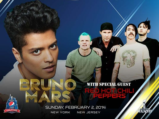 Bruno Mars and The Red Hot Chili Peppers