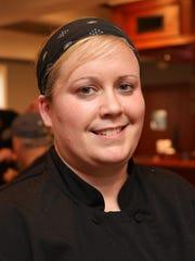 Kerri Horgan, the executive chef at the Nanuet Restaurant