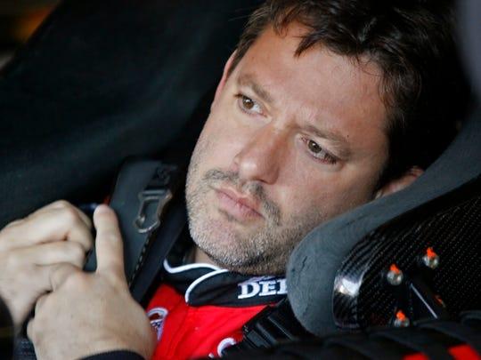 NASCAR driver Tony Stewart.