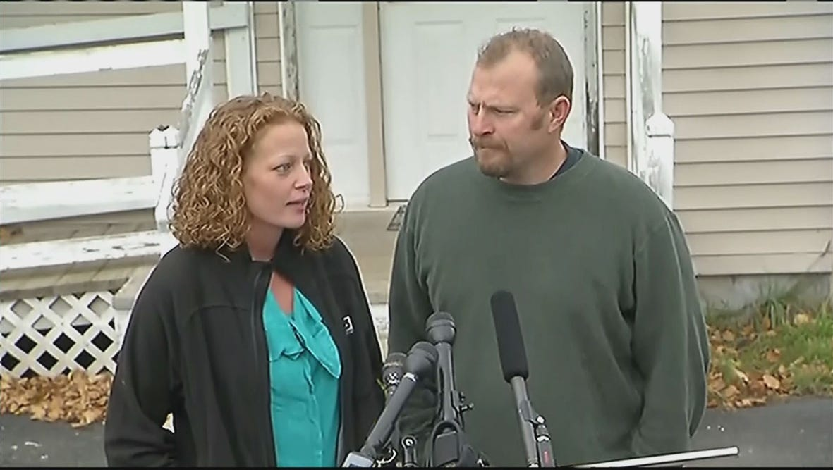 Kaci Hickox and her boyfriend Ted Wilbur addressed